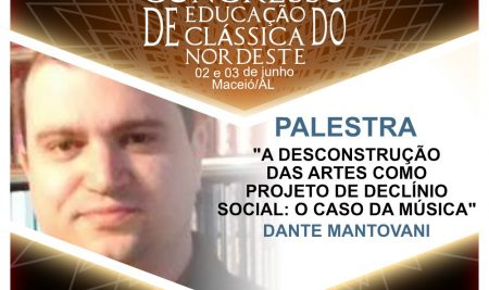 Congresso de Educação Clássica em Maceió/AL