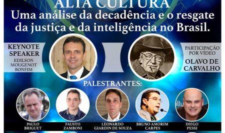 Convite do Professor Olavo de Carvalho para o Fórum Educação, Direito e Alta Cultura